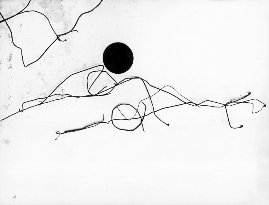 (Fig 3) Mario Giacomelli, Poesie in cerca d'autore, 90's, 30 x 40 cm, Gelatin Silver Print – Vintage, Stamp and Signature by Archivio Mario Giacomelli (Sassoferrato) - Courtesy: Artistocratic