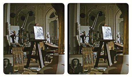 3) Picasso charcoal portrai by Robert Mouzillat. © Elizabeth Mouzillat Jowett 2013