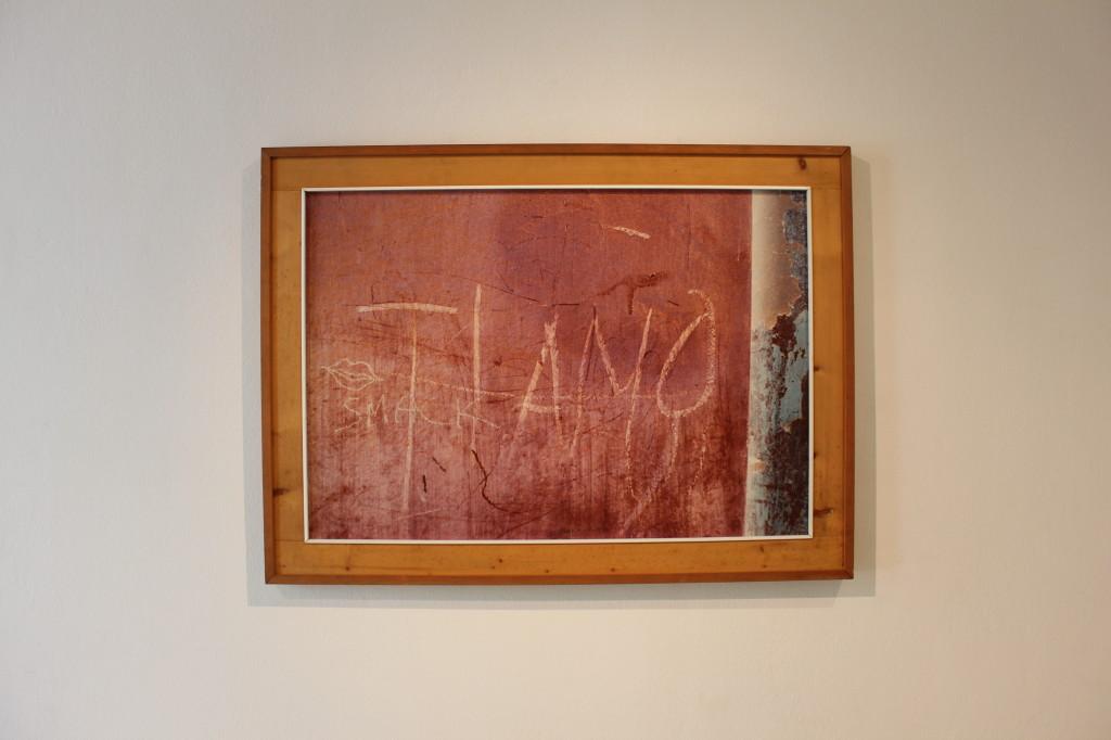 """17) da """"Muri"""", 1970, tecnica mista, cm.70x100. vintage ed unicum"""