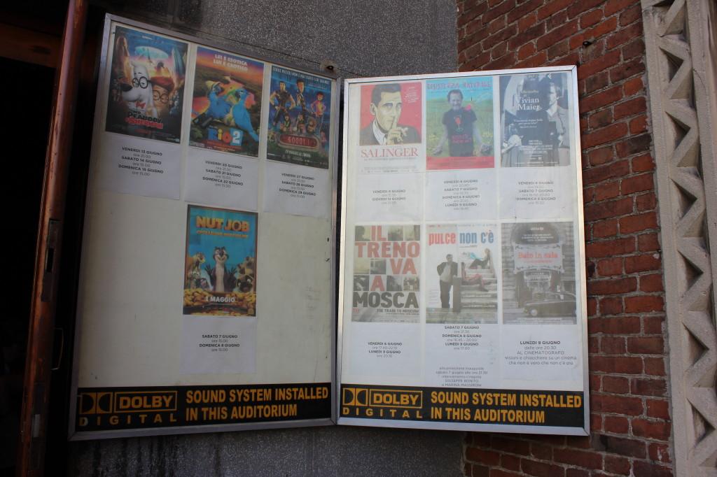 1) Locandine Cinema Beltrade di Milano