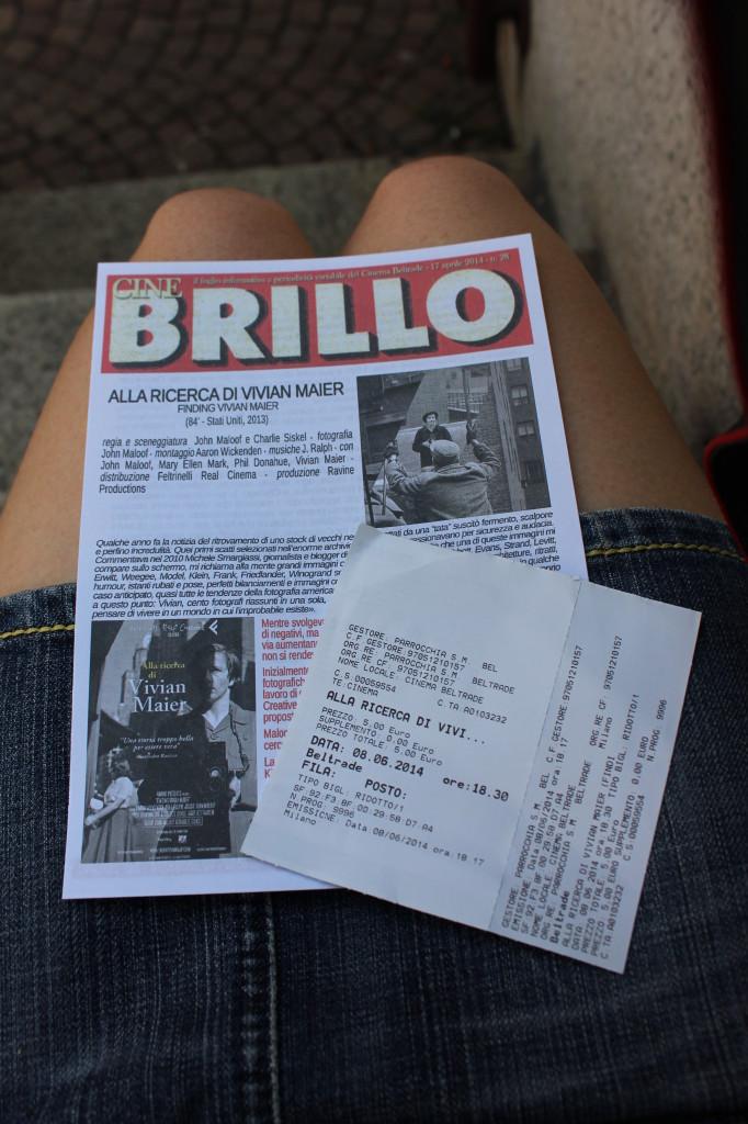 4) Il biglietto (scontato) !!!