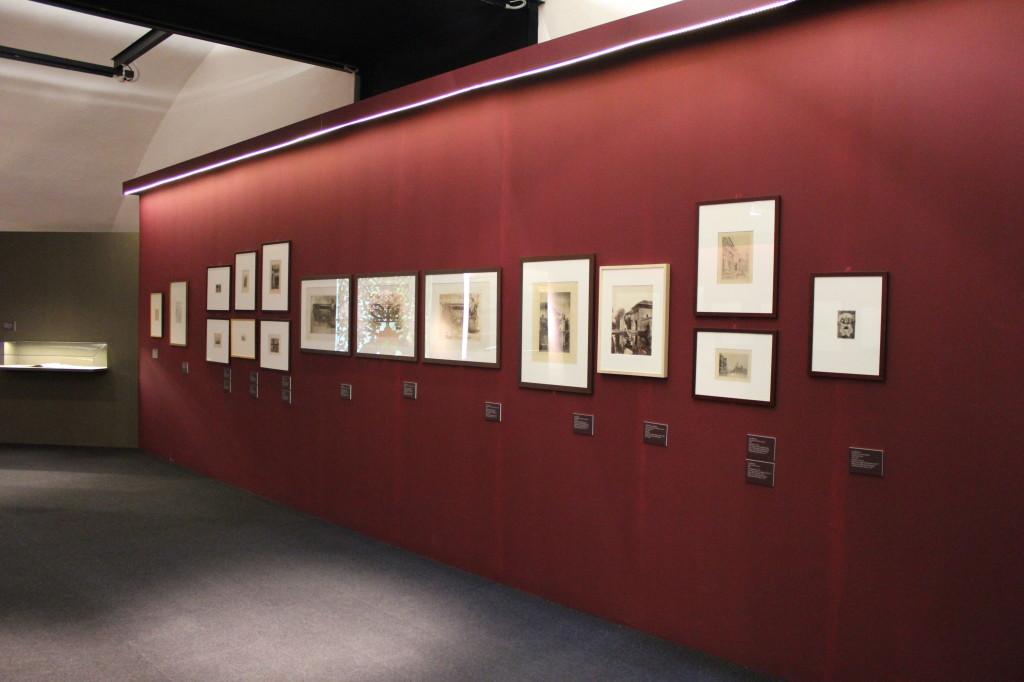 2) Fotografie presenti nella prima sala