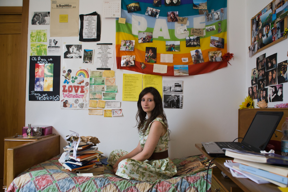 "Margherita, dalla serie ""(Dis)Occupazione"", 2013"