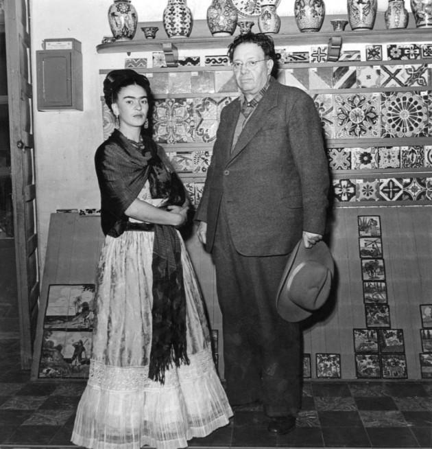12) Leo Matiz, Frida y Diego