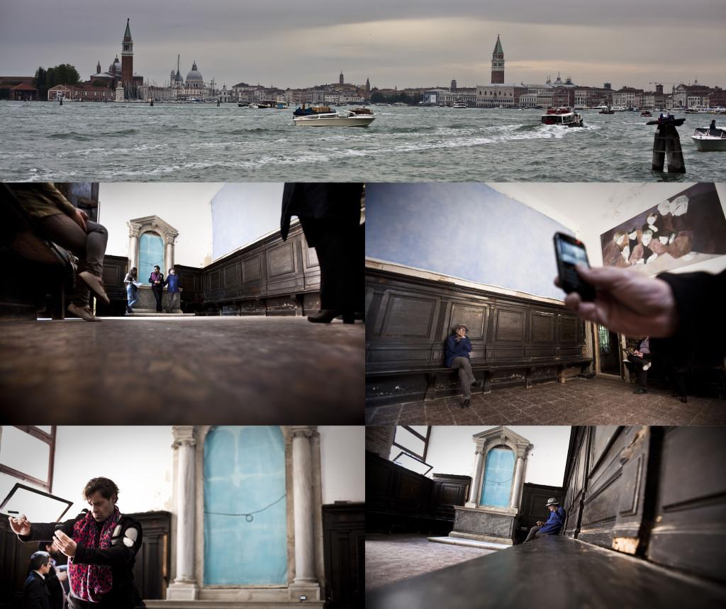 Collage UNCONNECTED III, Venezia, 2013
