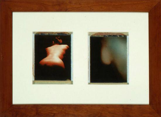 Paolo Gioli, Nudo telato, 1979