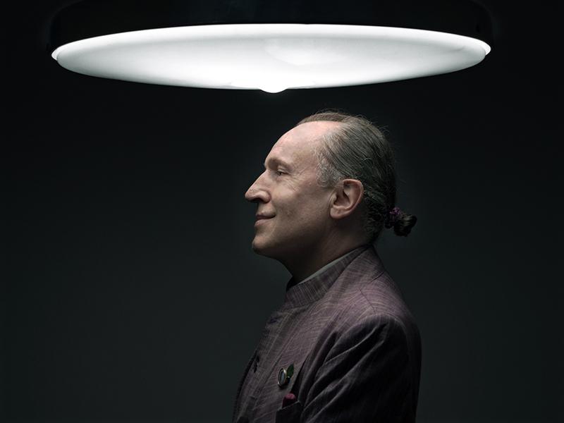 """Luigi Ontani, dalla serie """"Ritratti"""", 2012"""