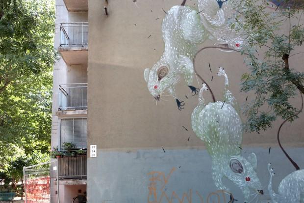 Hitens, Via De Crescenzi, Bologna, 2012