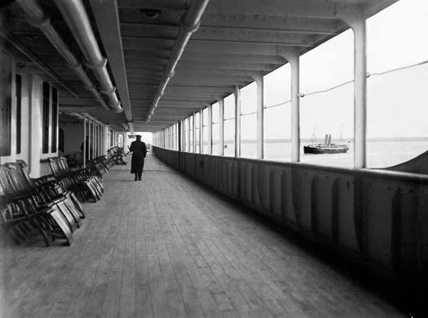 "Titanic, ""A"" Deck."