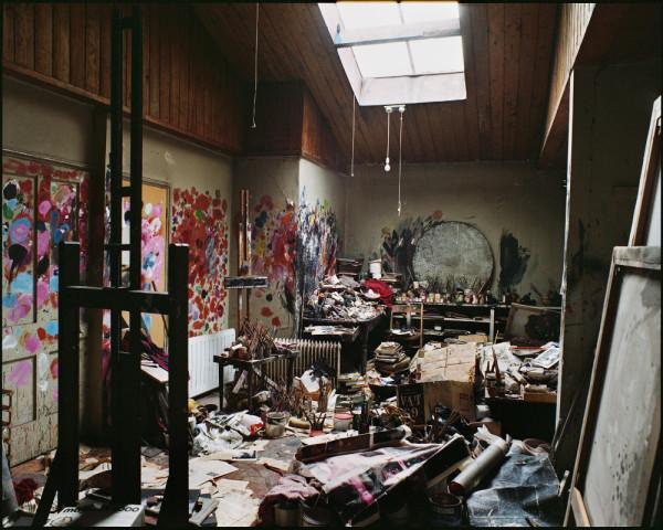 Francis Bacon's 7 Reece Mews Studio, London, 1998. Photo: Perry Ogden © The Estate of Francis Bacon
