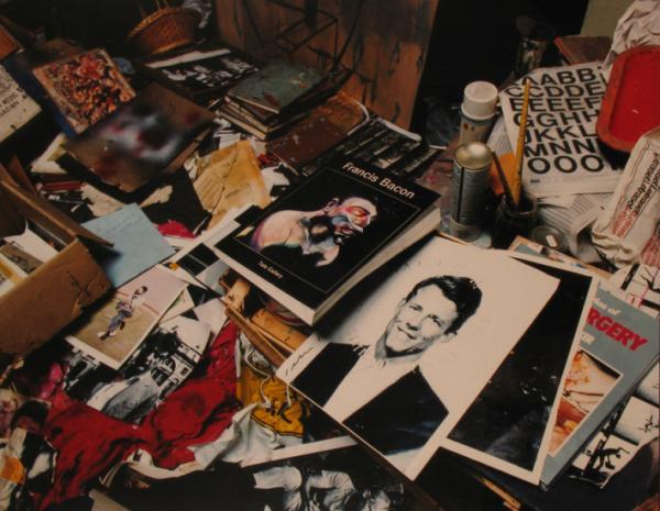 Studio di Francis Bacon Studio. Fotografia di Perry Ogden, 2001