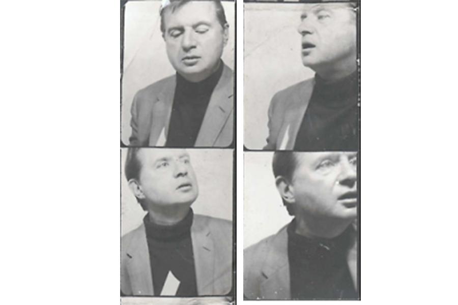 Foto tessere di Francis Bacon