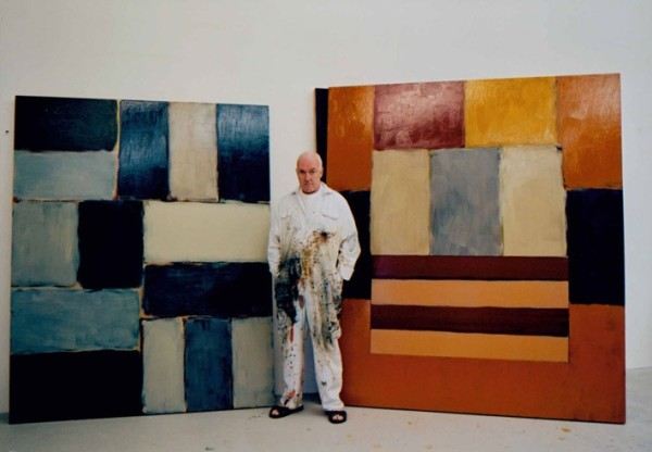 Sean Scully presso il suo atelier