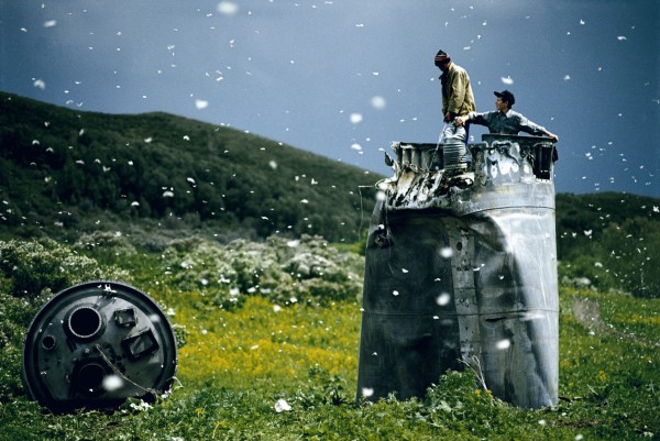 Jonas Bendiksen, Territorio dell'Altai, Russia 2000. © Jonas Bendiksen/Magnum Photos