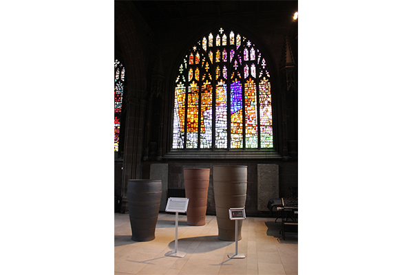 The Manchester Cathedral, interno
