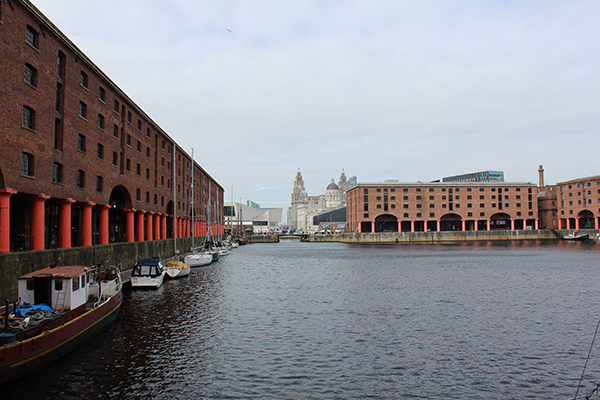 The Albert Dock: The TATE (destra)
