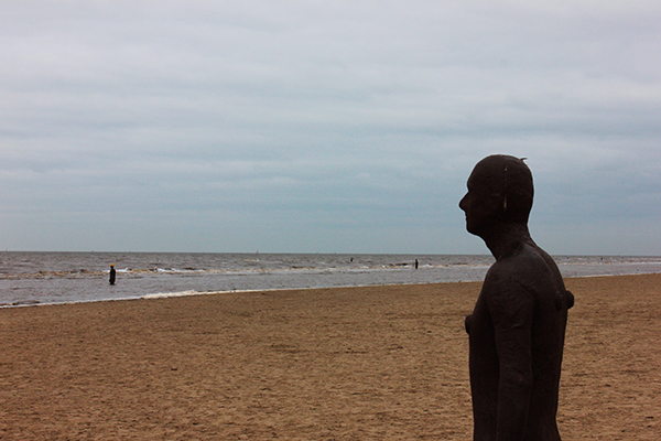 "Antony Gormley, ""Another Place"", Crosby Beach, Liverpool"