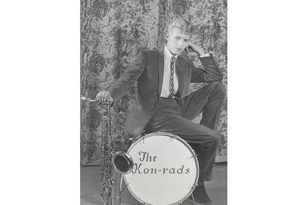"Roy Ainsworth, scatto promozionale per ""The Kon-rads"", 1963.  © V&A Images"