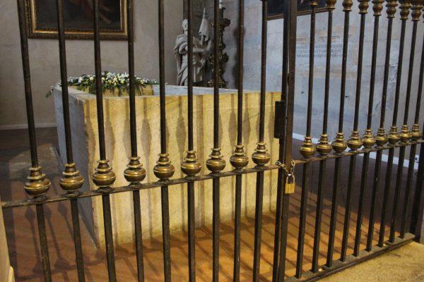 Vasca Battesimale paleocristiana, Duomo, interno