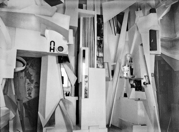 Kurt Schwitters Merzbau Photo- Wilhelm Redemann, 1933 © DACS 2007