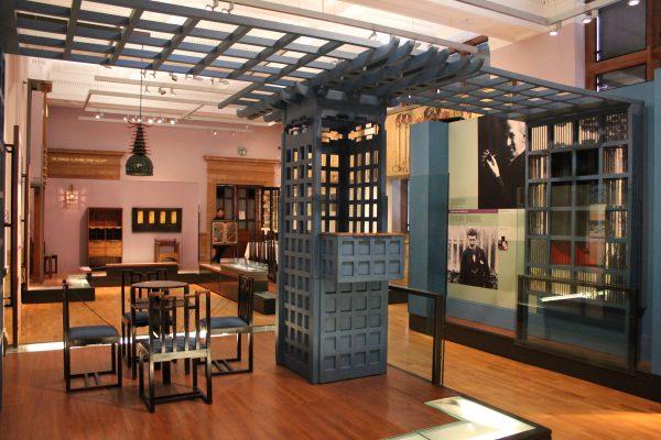 Ladies' Luncheon Rooms disegnate da C. R. Mackintosh, Kelvingrove Art Gallery and Museum, Glasgow