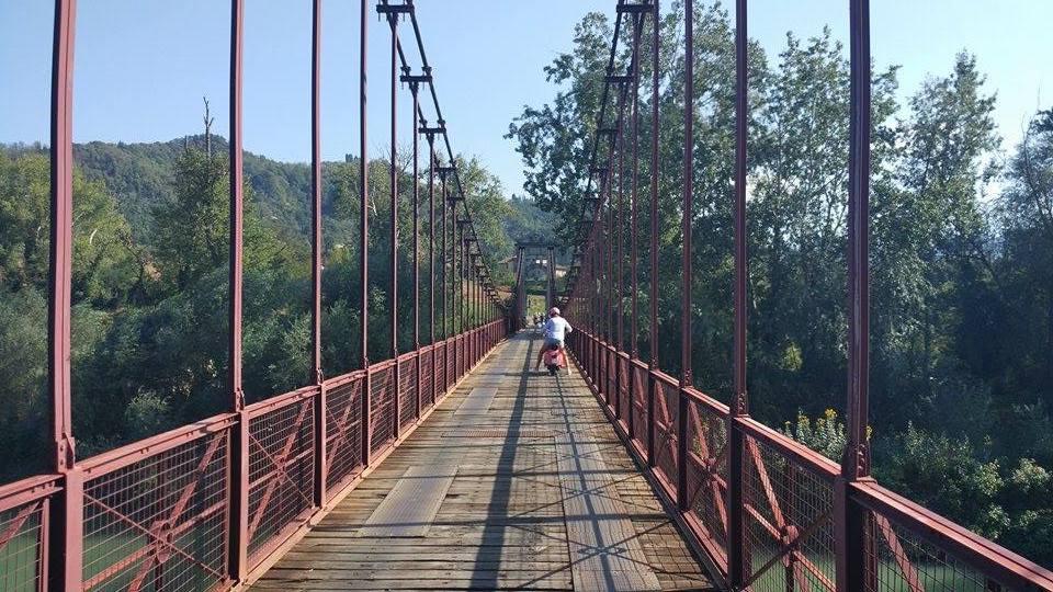 Ponte di Vizzano, Sasso Marconi (BO). Foto LT