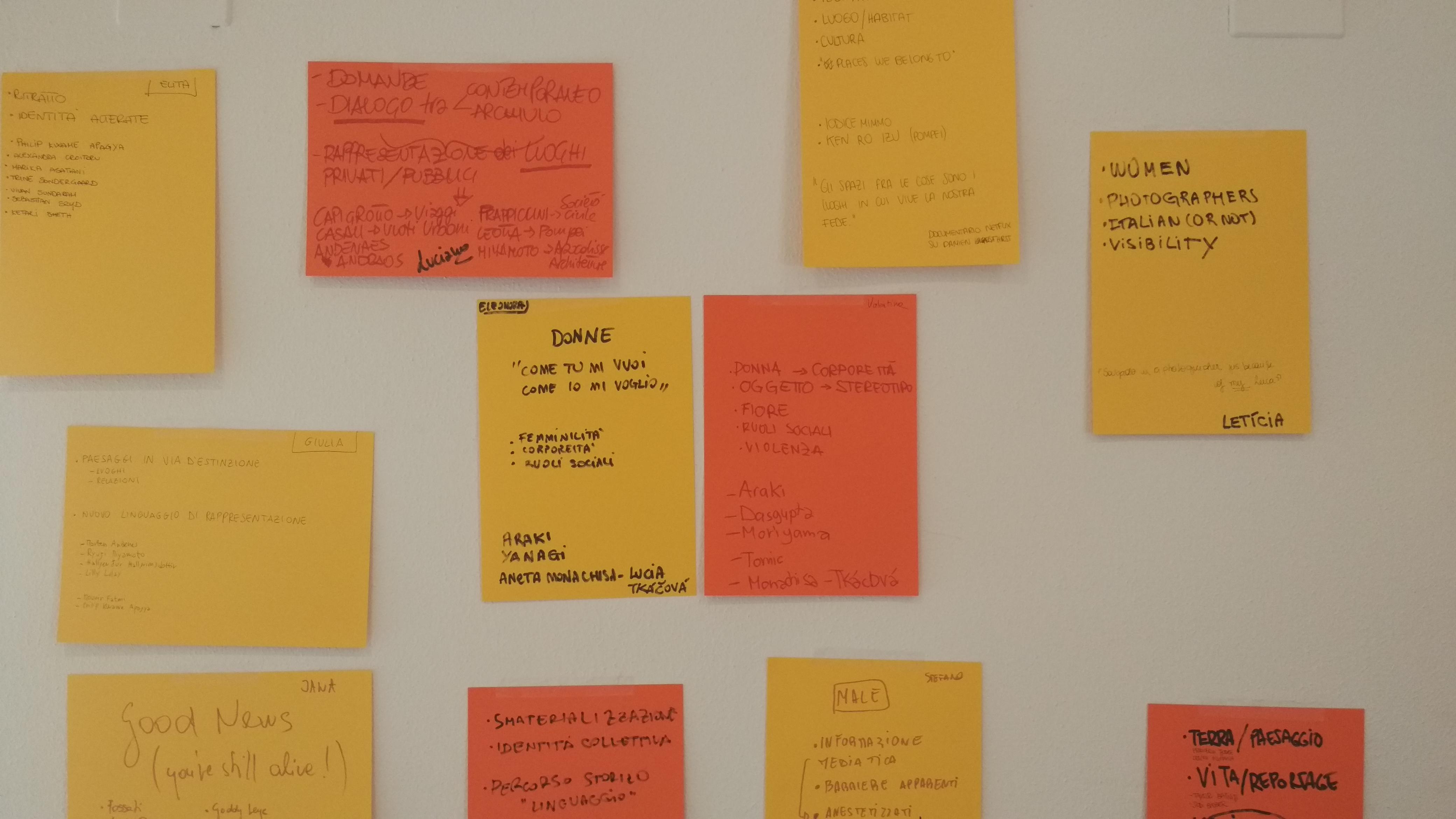 Brainstorming proposte