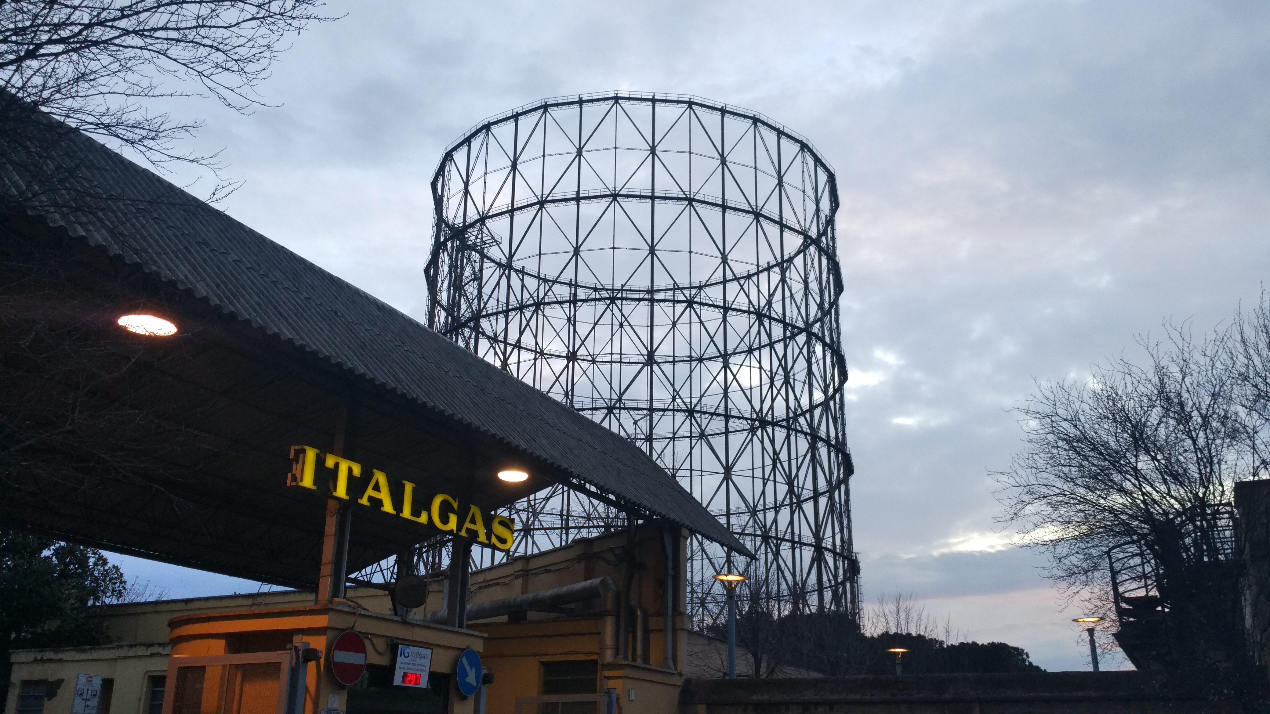 Gasometro, Riva Ostiense
