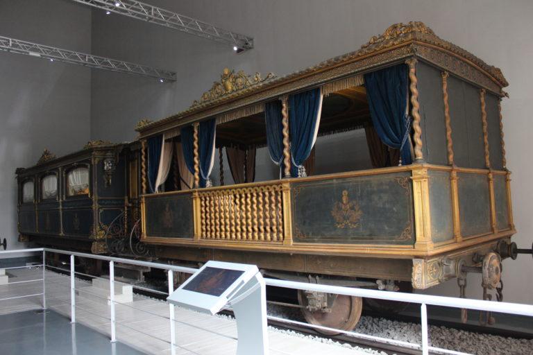 Sala del treno di Pio IX