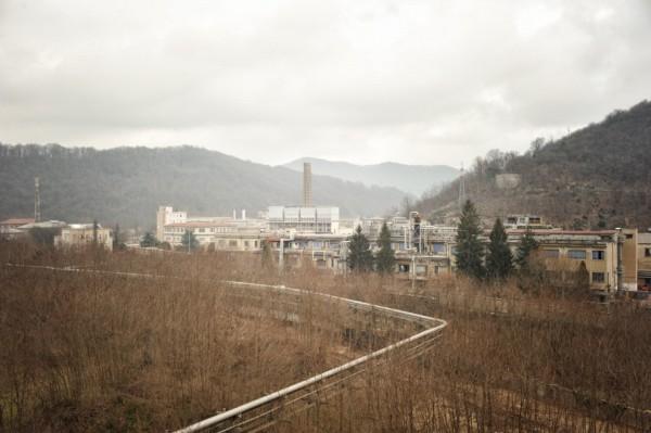 Lo stabilimento Ferrania