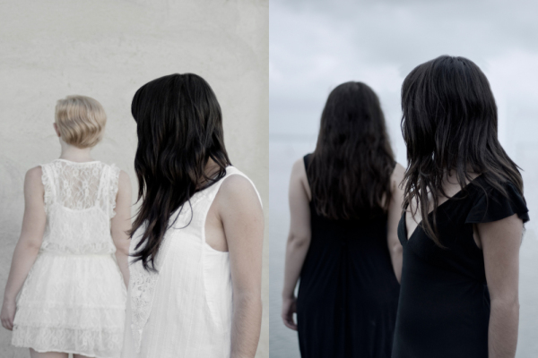 """I thnik I see you doppio, dalla serie """"Soliloquio di una solipsista"""", 2011"""