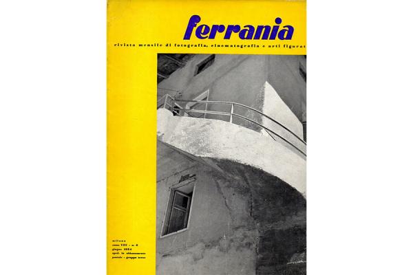 """""""Ferrania. Rivista mensile di fotografia, cinema e arti figurative"""", Milano, anno VIII, n.8. giugno 1954"""