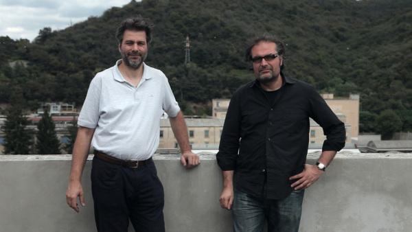 """Cofondatori della """"nuova"""" Ferrania: Nicola Baldini e Marco Pagni"""