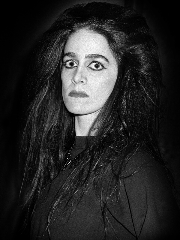 "Diamanda Galas, dalla serie ""Dark Portraits"",1985"