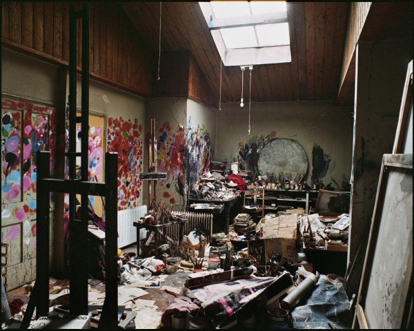 Francis Bacon's 7 Reece Mews Studio, London, 1998. Photo: Perry Ogden © The Estate of Francis Bacon