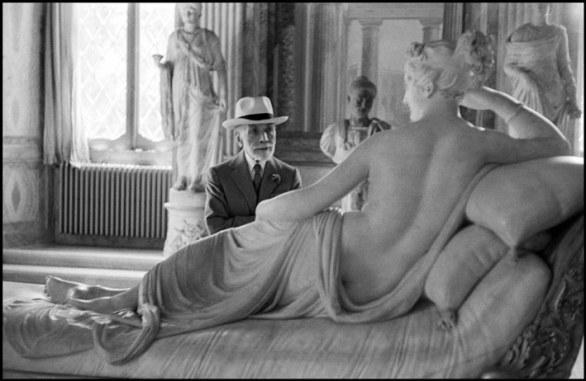 David Seymour, Galleria Borghese, 1955