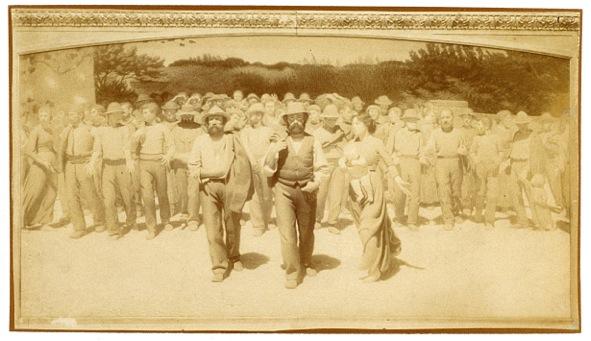 Quarto Stato, 1901. Riproduzione fotografica Studio Cicala, Voghera