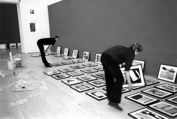 Palazzo esposizioni con Alessandra Mauro - allestimento mostra