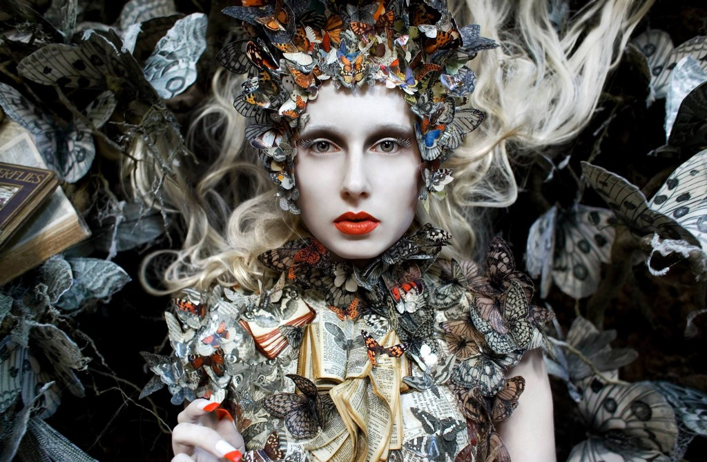 'The Ghost Swift' (2012) © Kirsty Mitchell Photography