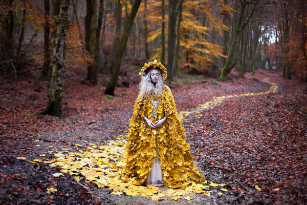 "'The Guidance of Stray Souls"" (2013) © Kirsty Mitchell Photography"
