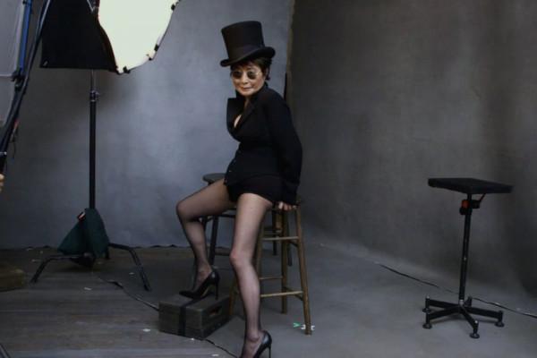 Yoko Ono - Backstage