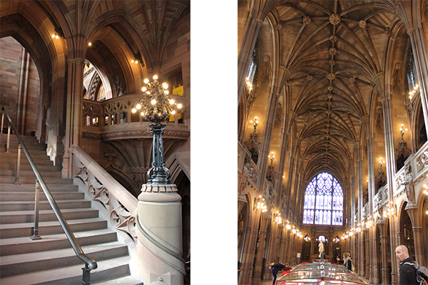 The John Rylands Library, interni