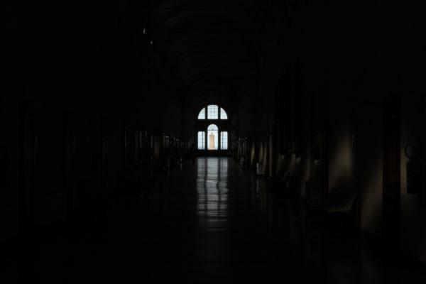 San Michele in Bosco, corridoio nord. Foto LT