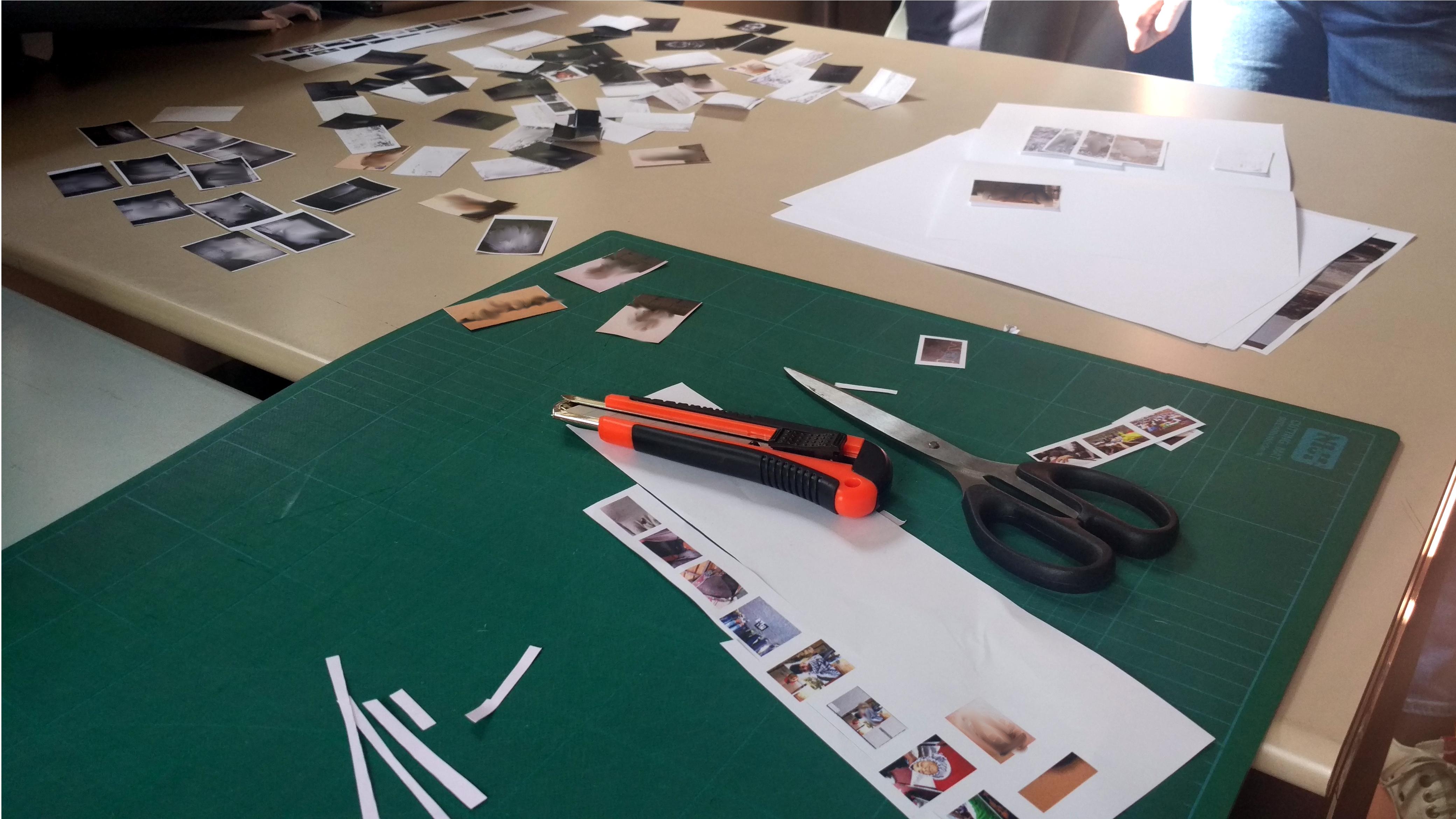 Il nostro piano di lavoro durante il workshop di Bas