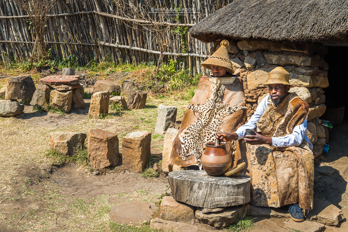 Basotho Cultural Village, Golden Gate Highland National Park