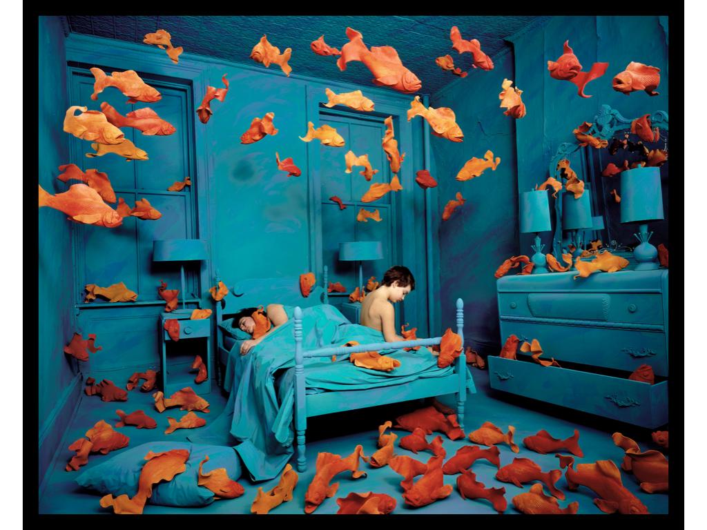 © SANDY SKOGLUND, Revenge of the Goldfish 1981